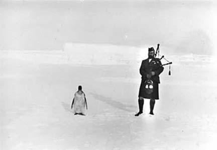 Dances Honour Scottish Antarctic Hero