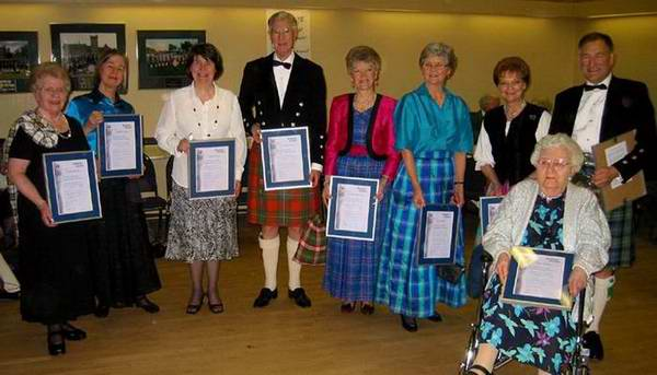 2006 Branch Award Recipients
