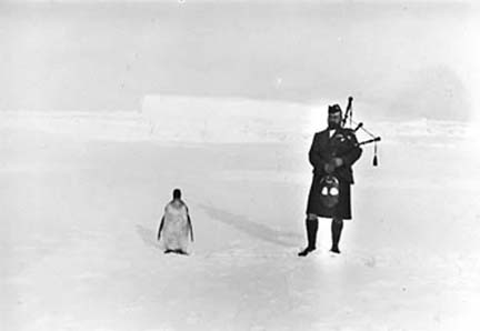 Dances Honour Scottish Antarctic Hero